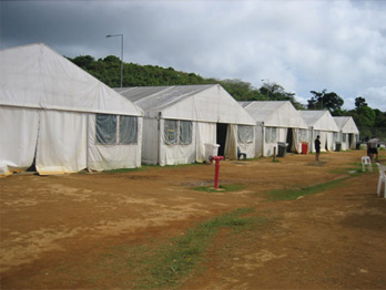 Tents needed for extra asylum seekers on Christmas Island