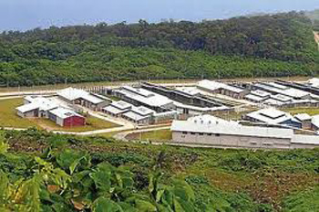 Bleak, remote and off shore. Christmas Island Detention Centre