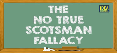 Image result for no true scotsman would do such a thing