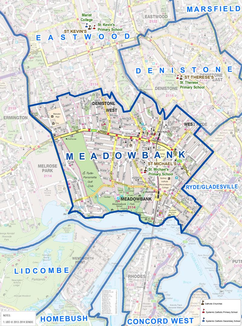 Meadowbank sydney