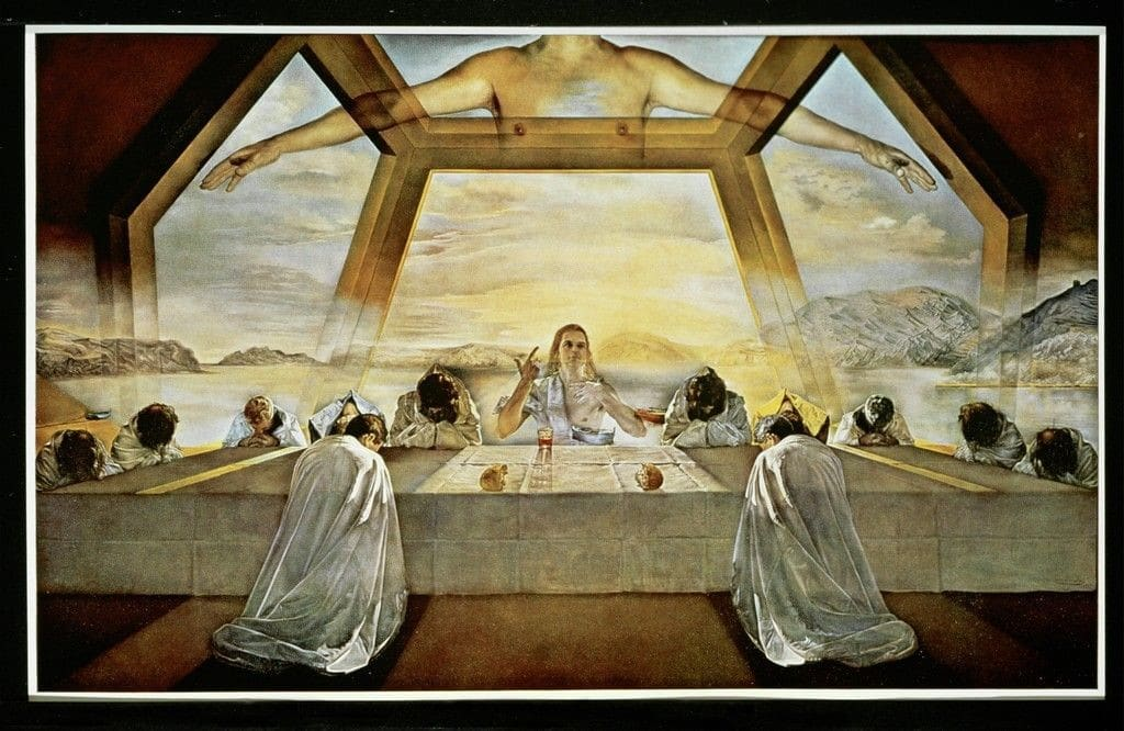 The Sacrament of the Last Supper | Salvador Dalí, The Sacrament of the Last  Supper (1955) | Salvador dali