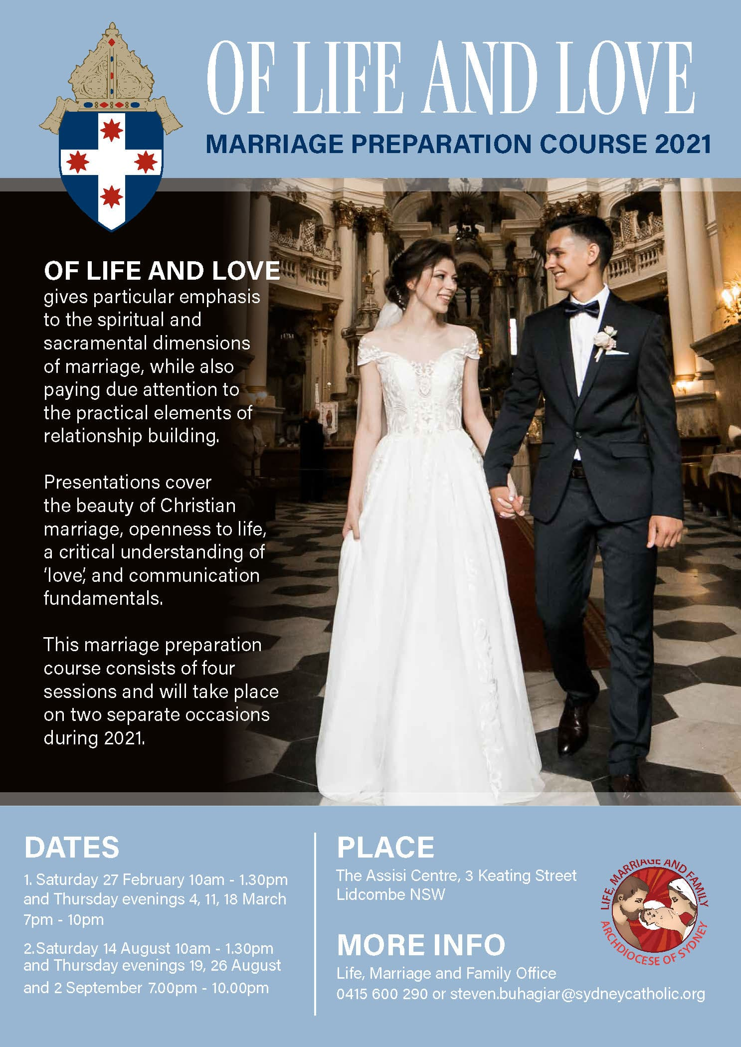Of Life and Love: Marriage Preparation Course 2021 - Catholic Archdiocese  of Sydney